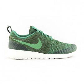NIKE ROSHE ONE FLYKNIT ROUGH GREEN