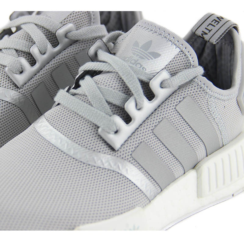 hot sale online 409be 473a6 adidas nmd r1 silver