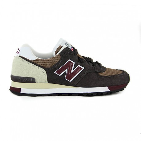 New Balance M575 Made in England Brown & Burgundy