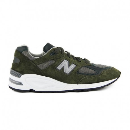 New Balance M990 Made in the USA Green & Camo