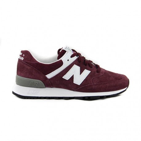 New Balance W576 Burgundy / White Made in England