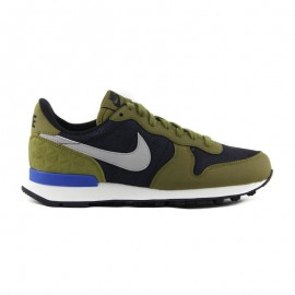 NIKE W INTERNATIONALIST PRM BLK/MTT SLVR OLV