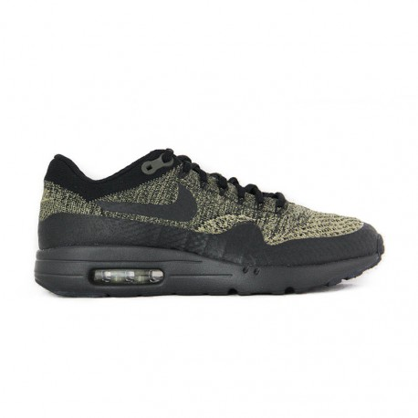 Nike AIR MAX 1 ULTRA FLYKNIT Neutral Olive / Black