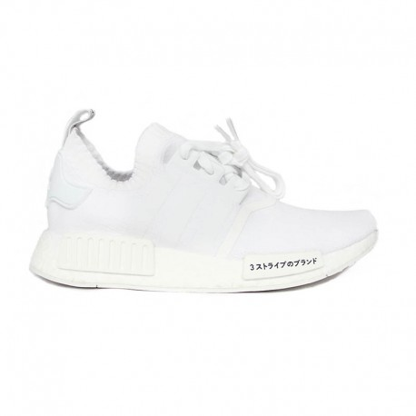 """Adidas NMD_R1 PK """"Triple White"""""""
