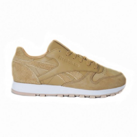 REEBOK CLASSIC LEATHER CAMEL/WHITE