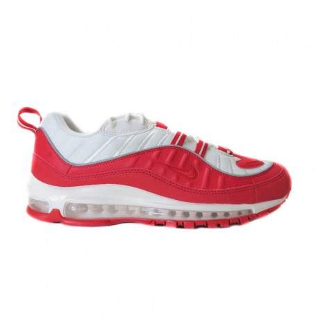 "NIKE AIR MAX 98 ""UNIVERSITY RED/WHITE"""
