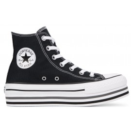 CONVERSE Chuck Taylor All Star Platform Layer (Black)