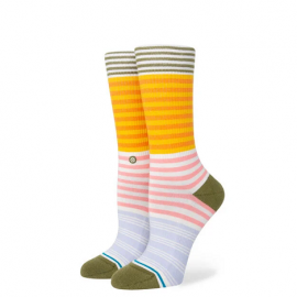 Stance ICON CREW SOCK PINK