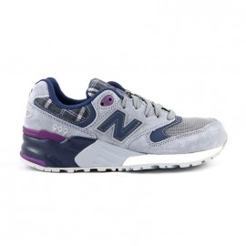 "New Balance WL999WG ""Tartan"" Grey / Purple"
