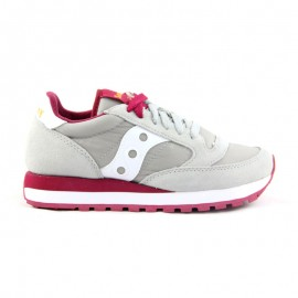 SAUCONY JAZZ ORIGINAL GREY/RED