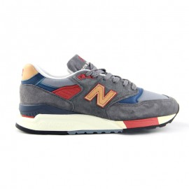 NEW BALANCE M998 Navy & Tan MADE IN THE USA