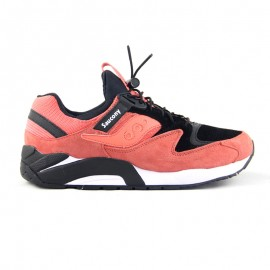 "SAUCONY GRID 9000 PREMIUM ""Bungee Pack"" Coral"
