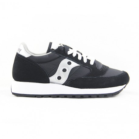 SAUCONY JAZZ ORIGINAL BLACK/SILVER