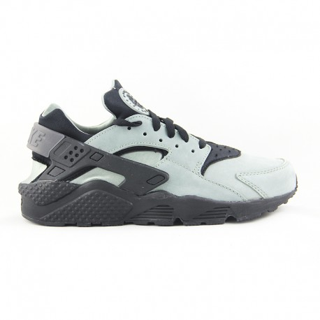 NIKE AIR HUARACHE RUN PRM  MICA GREEN/BLACK