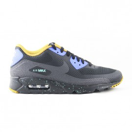 NIKE AIR MAX 90 ULTRA ESSENTIAL BLACK/BLUE EMRLD